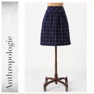 Anthropologie Converging Bits Skirt by Maeve